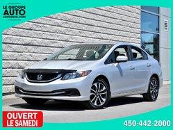 Honda Civic Sedan *EX*TOIT*AUTOM*A/C*MAGS*CAMAERA*26700KM*  2015