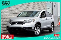 Honda CR-V *LX*AUTOM*A/C*SILVER*8 ROUES*  2014
