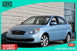 Hyundai Accent *4 PORTES*MANUELLE*BAS KILO*TRES PROPRE*  2010