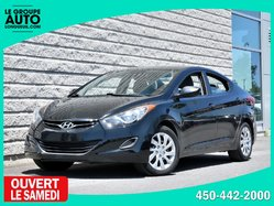 Hyundai Elantra *AUTOM*A/C*NOIR*BAS KILO*  2012