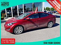 Hyundai Elantra GL**AUT**AIR**GROUP ELECTRIQUE**  2014