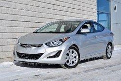 Hyundai Elantra *AUTOM*A/C*BLUETOOTH*DEMARREUR*BAS KILO*  2016