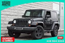 Jeep Wrangler *SAHARA*AUTOM*4X4*A/C*NOIR*  2008