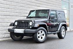 Jeep Wrangler *SAHARA*AUTOM*NAVIGATION*2 TOITS*NOIR*  2015