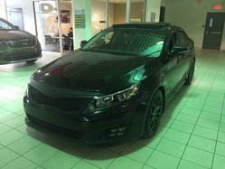 Kia Optima SX TURBO / GPS / TOIT / CUIR / BLUETOOTH /  2015