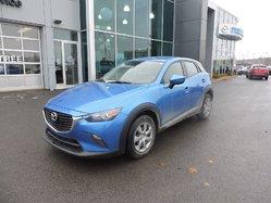 Mazda CX-3 GX AUTO A/C BLUETOOTH AVEC BAS KM  2016