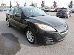 Mazda Mazda3 GX A/C MAG GR.ÉLECTRIQUE ET PLUS  2010
