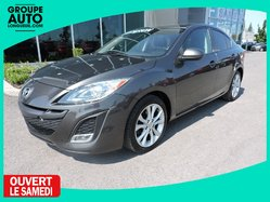 Mazda Mazda3 GT-TECH. NAV TOIT CUIR AUTO A/C BAS KM  2011