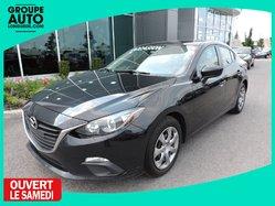 Mazda Mazda3 GX AUTO A/C BLUETOOTH GARANTIE MAZDA  2015