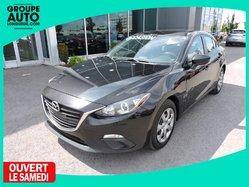 Mazda Mazda3 GX  GR.ÉLECT. BLUETOOTH AVEC GARANTIE  2015