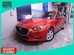 Mazda Mazda3 GS SIEGES CHAUFFANTS CAMERA DE RECUL BLUETOOTH  2017