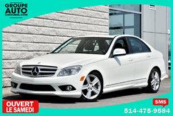 Mercedes-Benz C-Class *C300*4MATIC*AWD*BLANC*A/C*TRES PROPRE*  2009