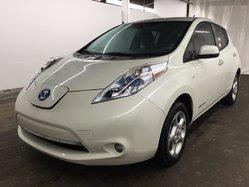 Nissan Leaf SL*AUTOM*QUICK CHARGE RAPIDE*NAVIGATION*BLANC*  2011