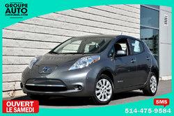 Nissan Leaf *AUTOM*A/C*CAMERA*RECHARGE RAPIDE*EN INVENTAIRE*  2015