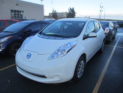 Nissan Leaf *AUTOM*CAMERA*SIEGES CHAUFFANTS*BLANC*BAS KILO*  2015