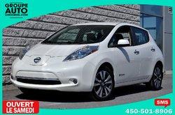 Nissan Leaf *SL*CUIR*BOSE*QUICK CHARGE*NAVI*  2015