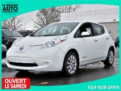 Nissan Leaf *AUTOM*A/C*BLANC*CAMERA*  2015