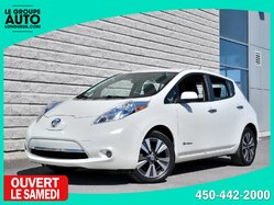 Nissan Leaf *SL*CUIR*NAVI*CAMERA 360*QUICK CHARGE*  2015