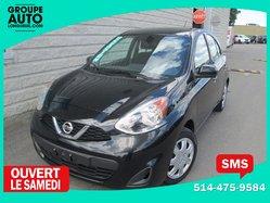 Nissan Micra *SV*AUTOM*A/C*CAMERA*BLUETOOTH*NOIR*  2015
