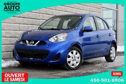 Nissan Micra *SV*AUTOM*A/C*GR ELECT*BLEUE*29000KM*  2015