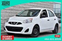 Nissan Micra *BLANCHE*AUTOM*A/C*1 PROPRIO*  2015