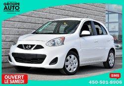 Nissan Micra *SV*AUTOM*A/C*BLANCHE*47000KM*  2015