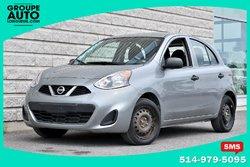 Nissan Micra *HATCHBACK*AUTOM*A/C*GRISE*BAS KILO*  2015