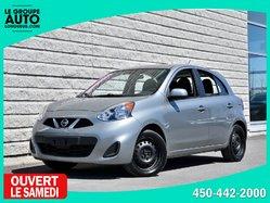Nissan Micra *SV*AUTOM*A/C*GRISE*33186KM*  2015