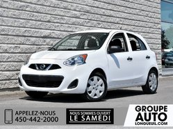 Nissan Micra *BLANCHE*MAN*CD*TRES PROPRE*  2015
