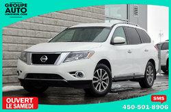 Nissan Pathfinder *SL*4X4*CUIR*7 PASSAGERS*BLANC*  2014