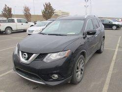 Nissan Rogue *SL*AWD*CUIR*GPS*TOIT*NOIR*BAS KILO*  2015