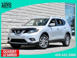 Nissan Rogue *SL*AWD*TOIT*NAVI*CUIR*SILVER*  2015