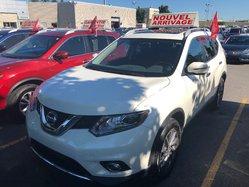 Nissan Rogue *SL*AWD*CUIR*TOIT*NAVI*BLANC*34586KM*  2016