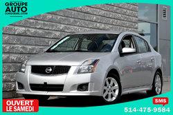 Nissan Sentra *SR*AUTOM*A/C*MAGS*AILERON*SILVER*BAS KILO*  2012