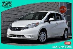 Nissan Versa Note *SV*AUTOM*A/C*BLANCHE*BAS KILO*  2014