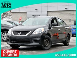 Nissan Versa *SV*AUTOM*A/C*BAS KILO*  2013