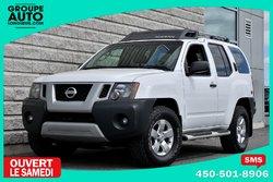 Nissan Xterra *AWD*BLANC*4X4*AUTOM*BAS KILO*  2011