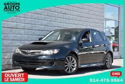 Subaru Impreza *WRX*MANUELLE*AWD*NOIR*80500KM SEULEMENT*  2010