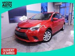 Toyota Corolla LE SIEGES CHAUFFANTS CAMERA DE RECUL  2015