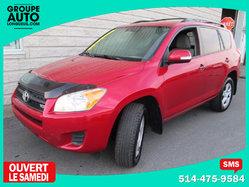 Toyota RAV4 *AWD*AUTO*V6*ROUGE*A/C*  2010