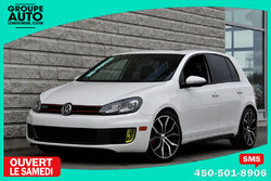 Volkswagen Golf GTI *BLANC*MANUELLE*TOIT*MAGS*FOGS*TRES PORPRE*  2011