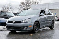 Volkswagen Golf wagon *AUTOM*CUIR*TOIT*DIESEL*RARE*  2013