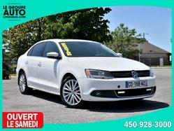 Volkswagen Jetta Sedan HIGHLINE * DIESEL *TOIT * GPS * CUIR * BLUETOOTH *  2013