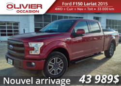 Ford F-150 Lariat 502A  2015