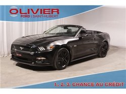 Ford Mustang GT 5.0L CONVERTIBLE AUTO CUIR BLACK MAGS  2016