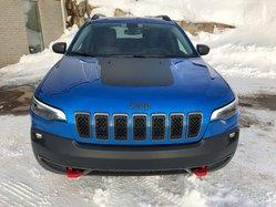 Jeep Cherokee ac/gr electrique bluetooth volant telescopique retroviseur electrique siege chauffant 4x4 Trailhawk  2019