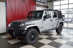 Jeep Wrangler Unlimited EDITION ARTIC, A/C, DÉMARREUR A DISTANCE  2017