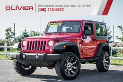 Jeep Wrangler Sport 4X4 MAGS 4 PASSAGERS A/C  2015