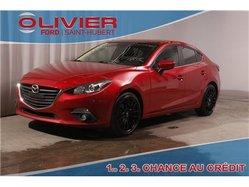 Mazda Mazda3 GS-SKY 5 VITESSES BLUETOOTH CAM BLACK MAGS A/C  2014