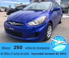Hyundai Accent GL Automatique Bas kilométrage Véhicule certifié  2014